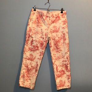 ✨J Crew Printed Pants Favorite Fit✨